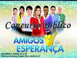 Concurso Bíblico 2011 - 04.ppt
